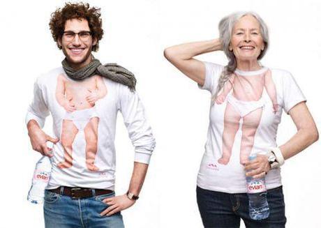 La campagne « Baby Inside »: la jeunesse selon Evian, un état d'esprit!