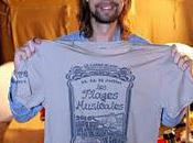 T-shirt collector American Vintage plages musicales 2010