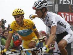Alberto Contador - Andy Schleck - Tour de France 2010