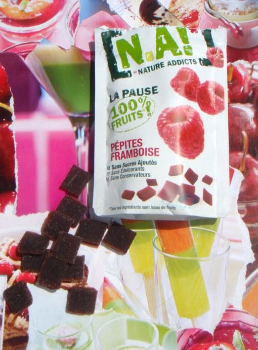 NA!! Nature Addict, le petit paquet 100% fruits