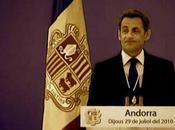 Sarkozy joue Monarque Andorre
