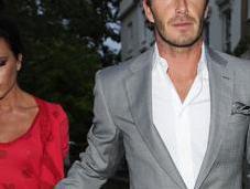 Sortie amoureux pour Victoria David Beckham