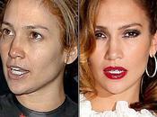 Photos femmes stars sans maquillage avec