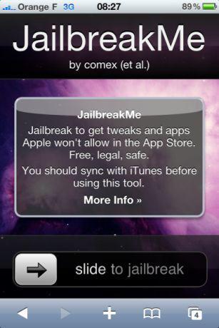 Jailbreak iPhone 4 : une solution en ligne !