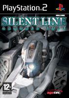 Jaquette DVD de l'édition PAL du jeu vidéo Silent Line: Armored Core
