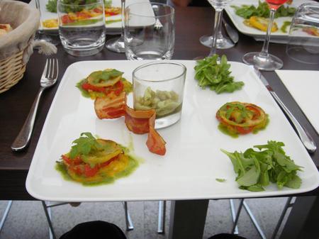 20100716 Atelier Guy Martin 10 entree table Cours de cuisine à lAtelier Guy Martin (ChrisoScope)