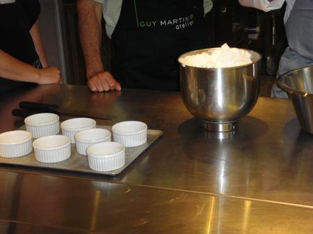 20100716 Atelier Guy Martin 05 souffle blancs Cours de cuisine à lAtelier Guy Martin (ChrisoScope)