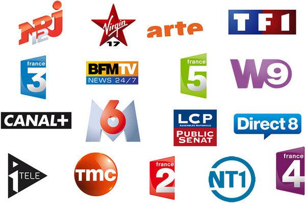 Photo : Les logos de la TNT gratuite.