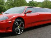 Limousine Ferrari photos)
