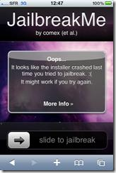 IMG 0189 thumb Jailbreak de l'iOS 4.01 – iPod Touch & iPhone 3GS/4