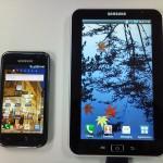 Concurrence : Le Galaxy Tab de Samsung