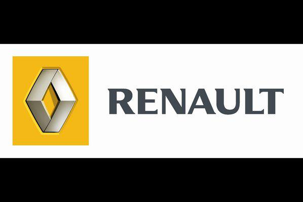 Photo : Le logo de Renault.
