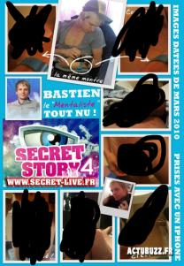 Secret story photos de Bastien nu