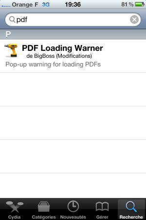iOS : risque de sécurité au niveau des PDF ?