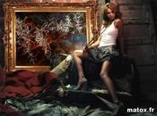 Artistic Fashion post Graffit Canvas model 2010 Advertising trend