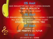Festival Coti-Chiavari jusqu' lundi prochain programme.