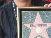 Emma Thompson reçoit étoile Hollywood Walk Fame