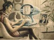 Affiches vintage Facebook, Skype YouTube