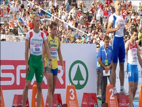 """A l'épreuve du """"bulge"""" Christophe Lemaitre n'est pas sur le podium !"""