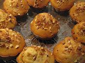 Muffins miel noisette, coeur chocolat cannelle