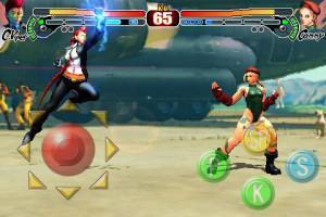 Un nouveau combattant dans Super Street Fighter IV iPhone !