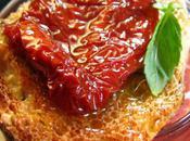 Soupe froide beefsteak comme gazpacho, tartine tomates confites