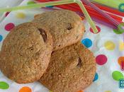 Cookies flocons d'avoine deux chocolats