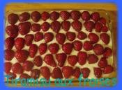 délicieux tiramisu fraises