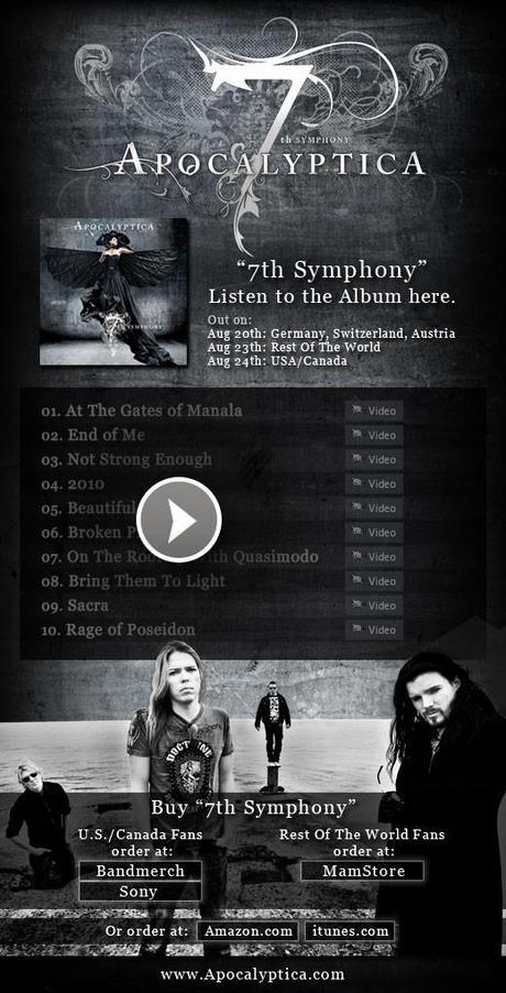 7th Symphony en écoute intégrale