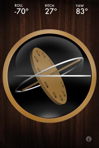 [Appstore] Gyroscope : testez votre gyroscope sur iPhone 4