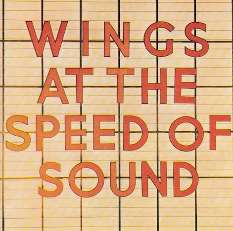 Wings #5-At The Speed Of Sound-1976