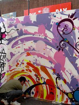 street art a la whitecross street party
