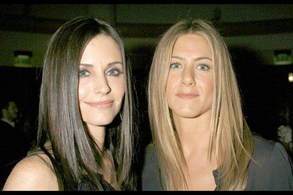 Photo : Courteney Cox et Jennifer Aniston