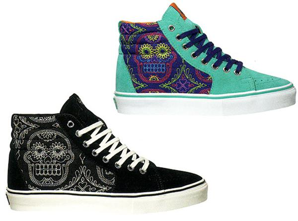 VANS VAULT – FALL 2010 – DAY OF THE DEAD PACK