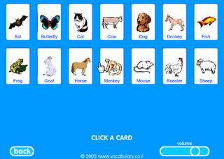 Enrichir son vocabulaire en anglais avec des jeux flash