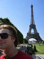 Michael Welch à Paris