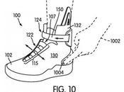 Nike déposé brevets pour système laçage automatique.