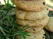 Cookies olives noires romarin