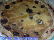 Tarte prunes fraiches