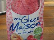 Glace fraises framboises sans sorbetière