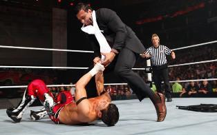 Alberto Del Rio s'invite à Raw