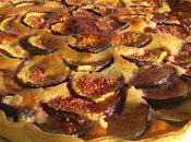 Tarte crème d'amande figues