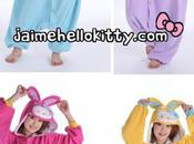 Coup coeur pyjamas pour adulte Hello kitty Colorful Bunny
