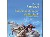Chronique règne Nicolas Patrick Rambaud