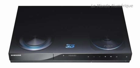 IFA 2010 : Enregistreur TNT HD lecteur Blu-ray 3D Samsung BD-C8900