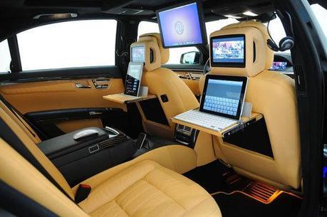 Mercedes S600 avec tuning 100% Apple