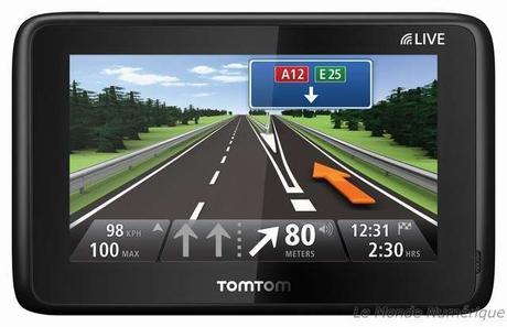 IFA 2010 : Nouveau GPS TomTom GO Live 1000, GO Live 1005 et les futurs développements