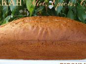 Lekah Roch Hachana (cake miel, épices café)