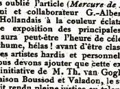 première reconnaissance posthume Vincent Gogh, critique Julien Leclerc.