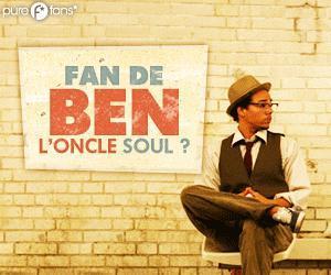 Gagnez des places pour le concert de Ben l'Oncle Soul